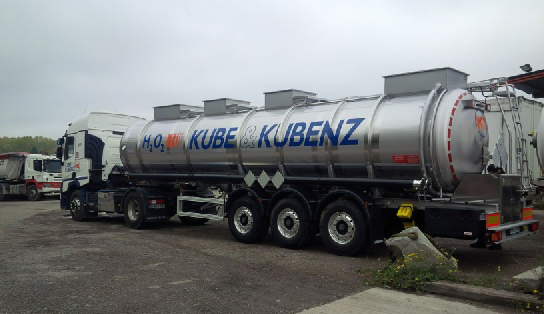 New Specialised Semi-Trailer for Hydrogen Peroxide